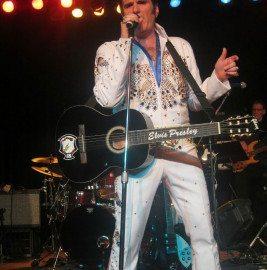Carmine as Elvis